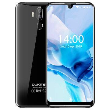 OUKITEL K9 7.12 Inch FHD+ Waterdrop Display 6000mAh 4GB RAM 64GB ROM Helio P35 Octa Core 2.3GHz 4G Smartphone