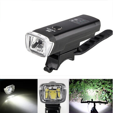 XANES SFL03 600LM XPG LED German Standard Smart Induction Bicycle Light IPX4 USB Rechargeable Large Flood Light