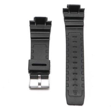 החלפת 25mm שחור הסיליקון גומי Watch רצועת רצועת הכלים + כלי עבור זעזועים G