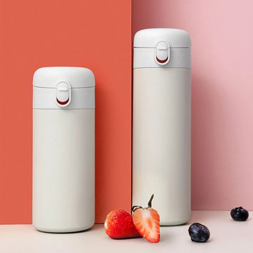 Xiaomi Pinlo 400ml 530ml Vacuum Cup Thermos 6 Hours Insulation Lock Cold Stainless Steel Water Bottle