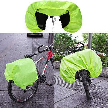 BIKIGHT Étanche Pluie Couverture Manteau Pour Vélo Vélo Vélo Moto Arrière Seat Carrier Bag Rack Pa