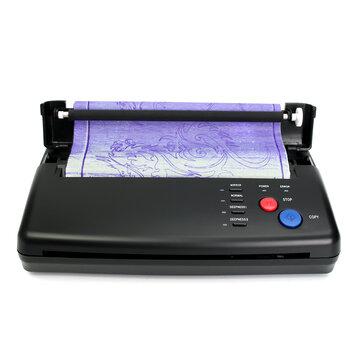 100-240V Tattoo Thermal Stencil Maker Copier Transfer Printer Flash TattooTransfer Copier Machine