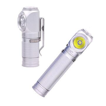 Eagle Eye X1R White Version USB Rechargeable Portable EDC LED Flashlight 18650/18350 Magnetic Tail