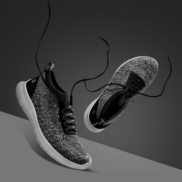 AMAZFIT Fly Knit Ultralight Men Sneakers Bacteriostatic Mildewproof Wear Resistance Non-slip Sports Running Shoes from xiaomi youpin