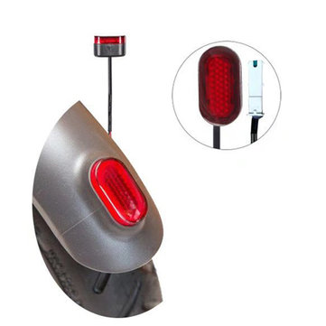 BIKIGHT Electric Scooter Fender Rear Warning Light With Line For Xiaomi M365 Scooter Skateboard