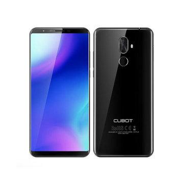 Cubot X18 Plus 5.99 Inch 18: 9 Android 8.0 4GB RAM 64GB ROM MT6750T Octa Core 4000mAh 4G Smartphone