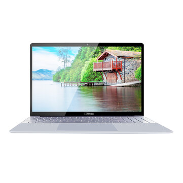 CENAVA F151 Laptop 15.6 inch Intel Core J3455 Intel HD Graphics 500 Win10 8G RAM 128GB SSD Notebook TN Screen - Sliver+White