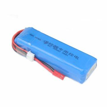 2S 7.4V 3000mAh Upgrade Lipo Battery for Frsky Taranis X9D Plus Transmitter for RC Drone FPV Racing