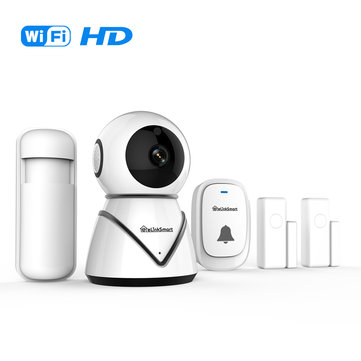 Elinksmart Star30VA HD 1080P IP Camera ONVIF Doorbell Door Magnet System Set Door Sensor Home Baby Monitors Home Alarm