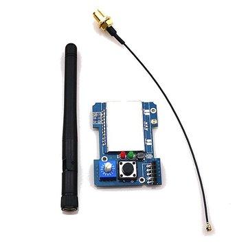 2.4g CC2500 a7105 FlySky FrSky devo DSM2 multiprotocole module tx avec antenne