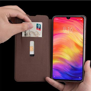 MOFI ranura PU carta invertida de cuero con funda protectora a prueba de golpes para el cuerpo completo a Xiaomi redmi 7 / redmi Y3