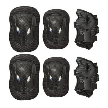 BIKIGHT 6PCS/set Outdoor Cycling Protective Gear Sports Kneepad Elbow Knee Wrist Safety Gear