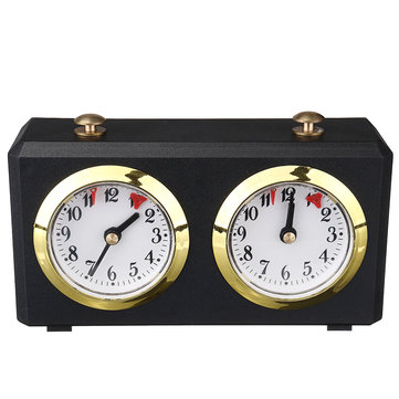Electronic Analog Chess Clock Timer Master Tournament Analogue I Count GO Up Count Down Alarm Timer For Game Competition for sale in Litecoin with Fast and Free Shipping on Gipsybee.com