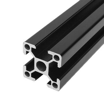 सीएनसी लेजर उत्कीर्णन मशीन के लिए माचिफिट ब्लैक 100-1200 मिमी 2020 टी-स्लॉट एल्यूमीनियम एक्सट्रूज़न ए