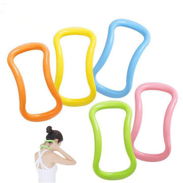 SGODDE Yoga Circle Fascia Stretch Ring ABS Outdoor Indoor Fitnesss Ring Pilates Magic Circle