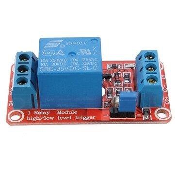 10Pcs 5V 1 Channel Level Trigger Optocoupler Relay Module For Arduino