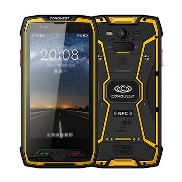 CONQUEST S11 IP68 Waterproof 5.0 Inch 6GB RAM 128GB ROM MTK6757 Octa Core 2.6GHz 4G Smartphone