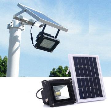 Solar Ed 12 Led Light Sensor Flood