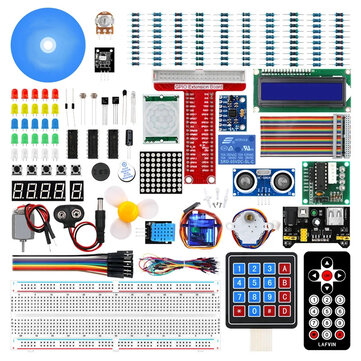 Geekcreit Ultimate Starter Kit Learning Kit for Raspberry Pi Model 3B+ 3B 3A+ 2B 1B+ 1A+ Zero W+ Diy Kit