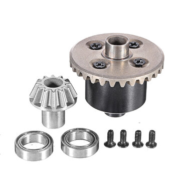 Wltoys 12423 12428 1/12 Upgraded Rear Differential Kit RC Car Vehicles Model Spare Parts