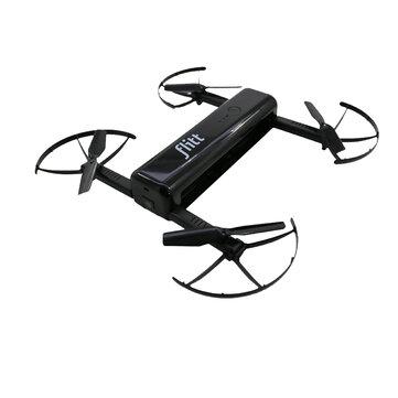 Flitt 720P WIFI FPV Optical Flow Positioning Foldable Pocket Portable RC Drone Quadcopter