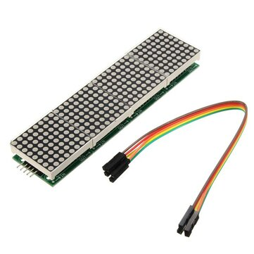 MAX7219 Dot Matrix Module 4-in-1 LED Display Module Geekcreit for Arduino - products that work with official Arduino boards