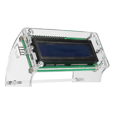 Geekcreit® IIC / I2C 1602 Blue Backlight LCD Display Module With Shell Bracket For Arduino