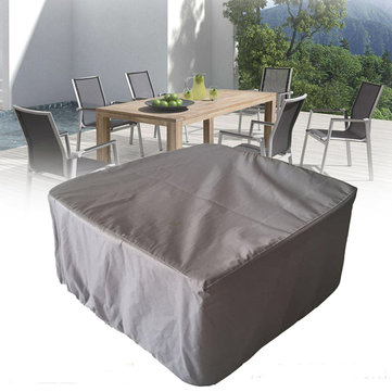 255x255x80CM Garden Yard Patio Table Waterproof Cover Outdoor Furniture Dust Shelter Protection