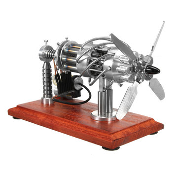 $213 for STARPOWER 16 Cylinder Hot Air Stirling Engine Motor Model Creative Motor Engine Toy Engine