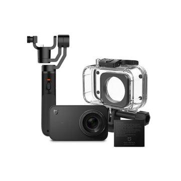 Xiaomi Mijia 4K Mini Action Sport Caméra 3-Axis Cardan Étanche Boîtier Batterie Set Version chinoise