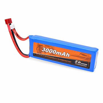 ZD Racing 11.1V 5000mAh 35C 3S Lipo Battery T Plug for 9072 08426 08427 1/8 1/10 RC Vehicles Car Models