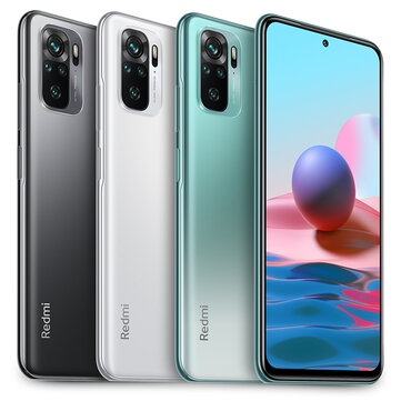 Xiaomi Redmi Note 10 Global Version 4GB 128GB 48MP Quad Camera 6.43 inch AMOLED 33W Fast Charge Snapdragon 678 Octa Core 4G Smartphone