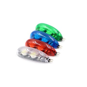 1 PC Blue/Green/White/Red Wireless LED Night Light Without Battery For RC Airplane FPV Aircraft