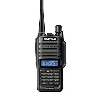 Baofeng UV-9R Plus Talkie-walkie UHF Talkie-Walkie UHF avec version améliorée, version 10W, pour jambon CB, prise AU