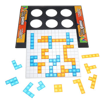 Two_Player Version Gladiator Board Game Tetris Puzzle Game for Children's Educational Toy Batch
