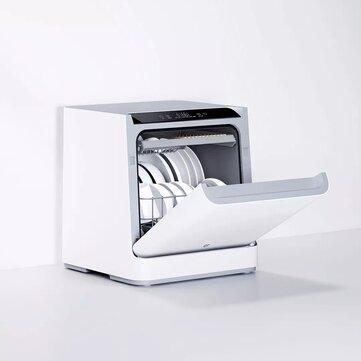$299.99 for Xiaomi Mijia VDW0401M Internet Desktop Dish Washer for 4 Sets 6D Double Spray System 99.99% Sterilization Mijia Xiaoai Control