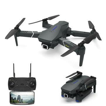 FPV FPV Eachine E520 với 4K / 1080P HD Camera góc rộng Chế độ giữ cao Có thể gập lại RC Drone Drone RTF