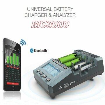 SKYRC MC3000 Điều khiển ứng dụng Bluetooth thông minh Bộ sạc pin đa hóa học