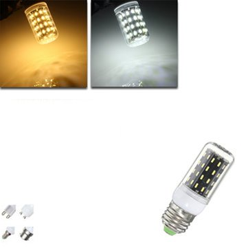 E27/E14/E12/B22/G9/GU10 LED Bulb 4W SMD 4014 56 400LM Pure White/Warm White Corn Light Lamp AC 220V