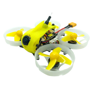 FullSpeed TinyLeader V2 75mm F4 2-3S Whoop FPV Racing Drone 1103 Motor Caddx Adjustable Cam 600mW VTX