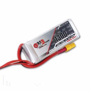 Gaoneng GNB 14.8V 1300mAh 4S 120C / 240C Lipo Батарея для РУ Дрона