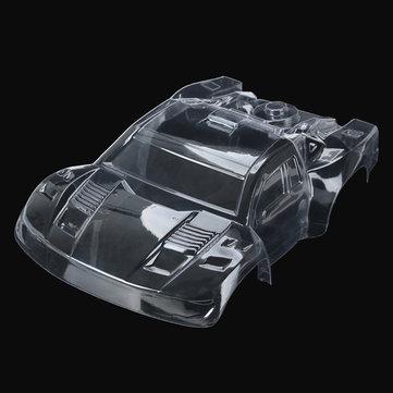 REMO 1/16 Clear Krátký předmět Body Shell Canopy D2601 RC Součást