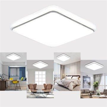 Đèn trần LED 24W 1000LM Đèn chiếu sáng Sqaure Ultrathin cho phòng ngủ nhà bếp AC110V-240V