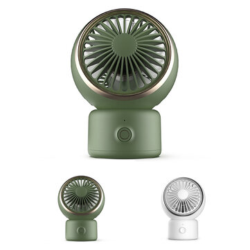 DOKIY 3-Speed Portable Cooling USB Desktop Fan Personal with 120° Rotation Adjustable Angle for Office Household Traveling