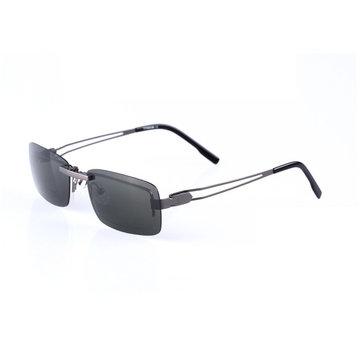 BIKIGHT Clip polarizado en las gafas de sol Hombre Driving Night Vision Lente Gafas de sol Hombre Anti-UVA UVB