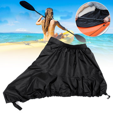 Kayak Spray Skirt Waterproof Cover Boat Canoe Cover Oxford Cloth Anti-UV Sun Portector