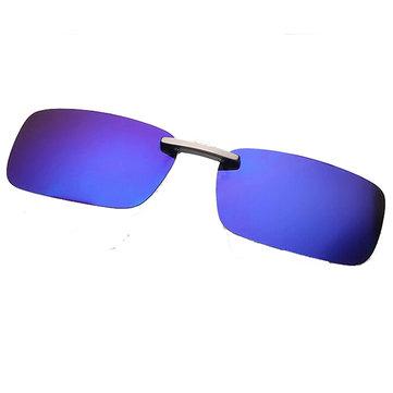 Polarized Clip On Sun Glassess Sun Glassess Driving Night Vision Lens For Metal Frame Glasses