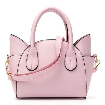 Women Cute Cat Wing Handbags Girls Chic Shoulder Bags Crossbody Bags