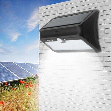 ARILUX® AL-SL 13 46 LED Солнечная Powered PIR Motion Датчик Настенный светильник Водонепроницаемы Безопасность На открытом воздухе Лампа