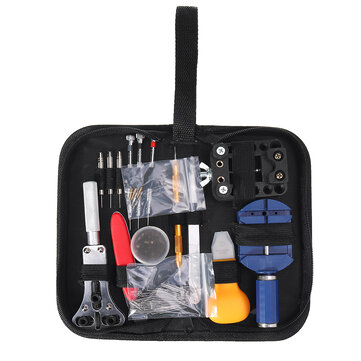 144 / 16Pcs Watch Strap Remover Repair Tools Kit Watchmaker Back Case Opener Spring Pin Bars